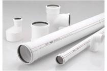 Труба каналізаційна Ǿ-32:довжина 1-0.5-0.315 метра - 1