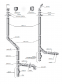 Димохідна труба нержавійка з теплоізоляцією в нержавійці  L = довжина :1м, Сталь :1 мм - 2