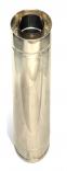 Димохідна труба нержавійка з теплоізоляцією в нержавійці  L = довжина :1м, Сталь : 0,6 мм - 1